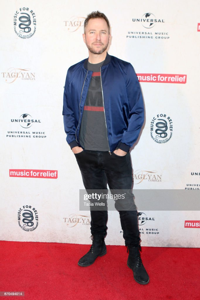 Radio personality Stryker attends Linkin Park's Music for Relief - Charity Poker Tournament at Taglyan Cultural Complex on April 19, 2017 in Hollywood, California.