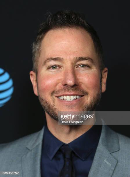 Radio personality Stryker attends the premiere of ATT Audience Network's Loudermilk and Hit The Road at ArcLight Cinemas on October 10 2017 in...