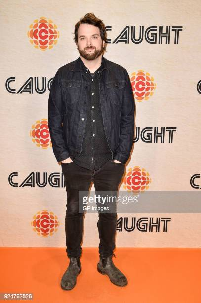 Radio Personality Tom Power attends CBC hosts world premiere of Caught at TIFF Bell Lightbox on February 26 2018 in Toronto Canada