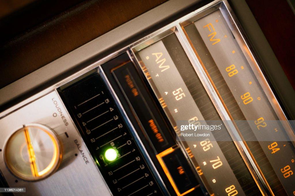 AM Radio : Stock Photo