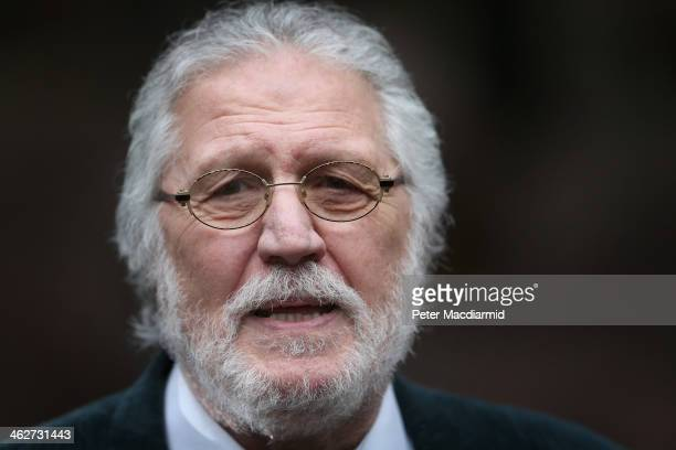 Radio presenter Dave Lee Travis arrives at Southwark Crown Court on January 15 2014 in London England Dave Lee Travis whose real name is David...