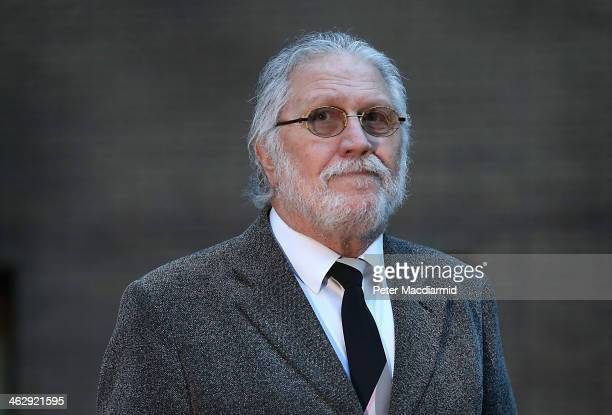 Radio presenter Dave Lee Travis arrives at Southwark Crown Court on January 16 2014 in London England Dave Lee Travis whose real name is David...