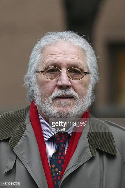 Radio presenter Dave Lee Travis arrives at Southwark Crown Court on January 20 2014 in London England Dave Lee Travis whose real name is David...