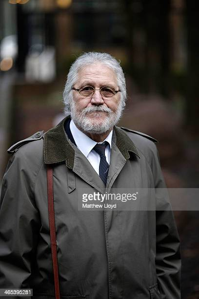 Radio presenter Dave Lee Travis arrives at Southwark Crown Court on January 27 2014 in Southwark England Dave Lee Travis whose real name is David...