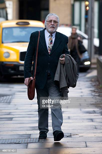 Radio presenter Dave Lee Travis arrives at Southwark Crown Court on February 4 2014 in London England Dave Lee Travis whose real name is David...