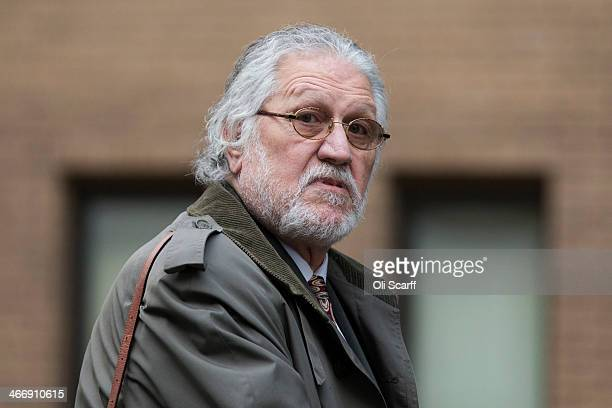 Radio presenter Dave Lee Travis arrives at Southwark Crown Court on February 5 2014 in London England Dave Lee Travis whose real name is David...
