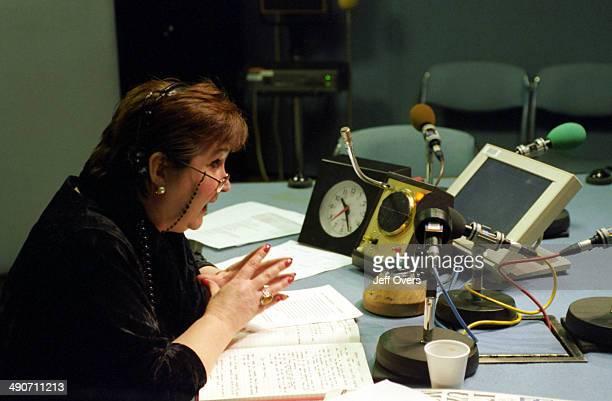 radio presenter Jenni Murray