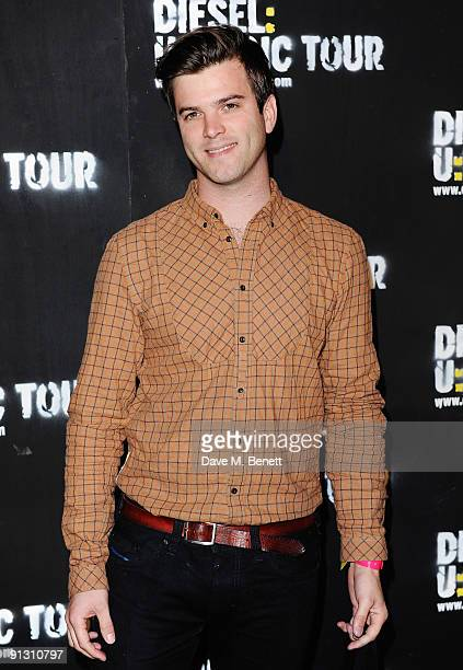 Radio presenter Tom Ravenscroft attends the DieselUMusic World Tour Party held at the University of Westminster on October 1 2009 in London England
