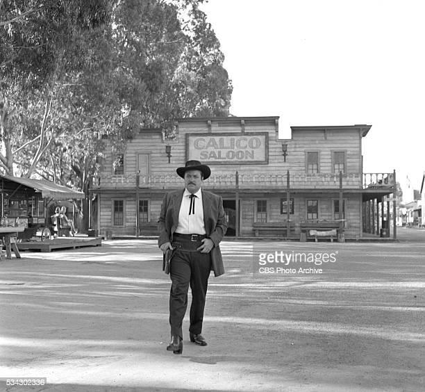 Radio program Gunsmoke featuring William Conrad Image dated February 1 1955 Los Angeles CA