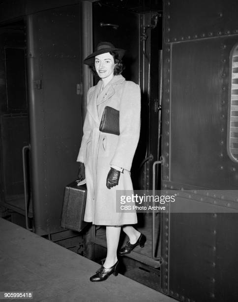 Radio program The Court of Missing Heirs 24yearold Helen Louise Herrold arriving to Grand Central Station She is an heiress to $14000 from the estate...