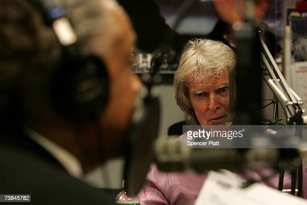Radio show host Don Imus talks with the Rev Al Sharpton on Sharptons radio show over charges Imus made racially charged comments in a recent...