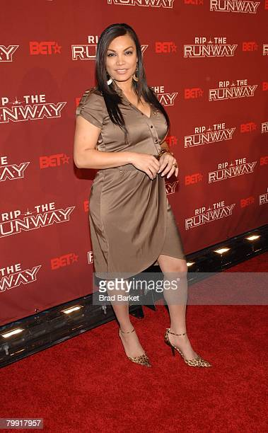 Radio show host Egypt attends BET's 'Rip the Runway' at The Manhattan Center February 21 2008 in New York City