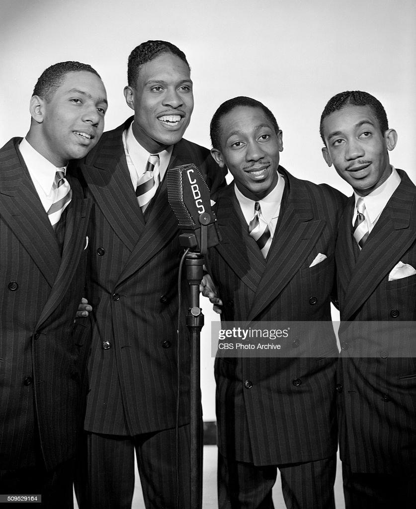 CBS Radio singers, The Deep River Boys, a harmony quartet... News ...