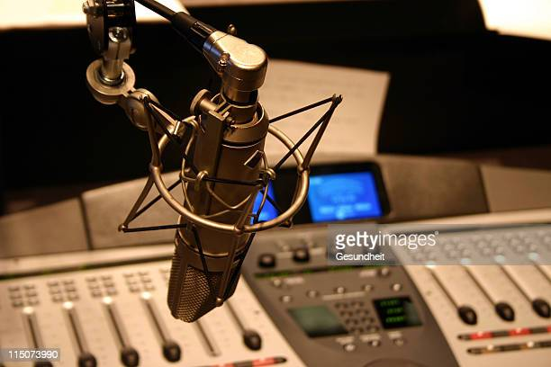 radio station - radio stock pictures, royalty-free photos & images