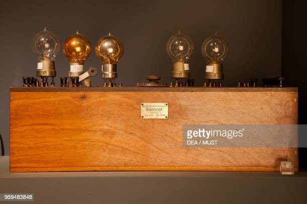 Radio station used for transmission tests created by Erminio Donner Flori Italy 20th century