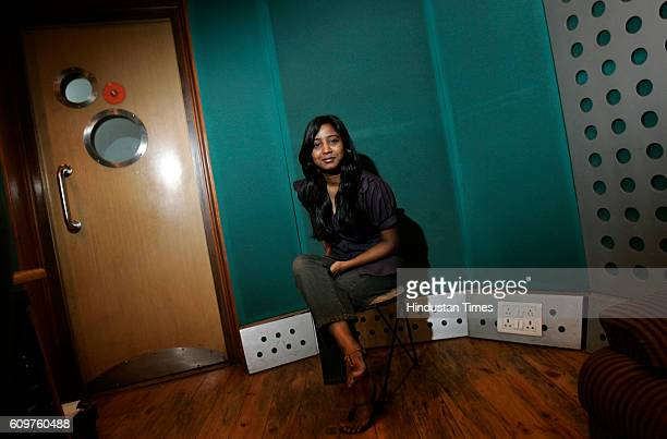 Radio Studio Singer Shilpa Rao