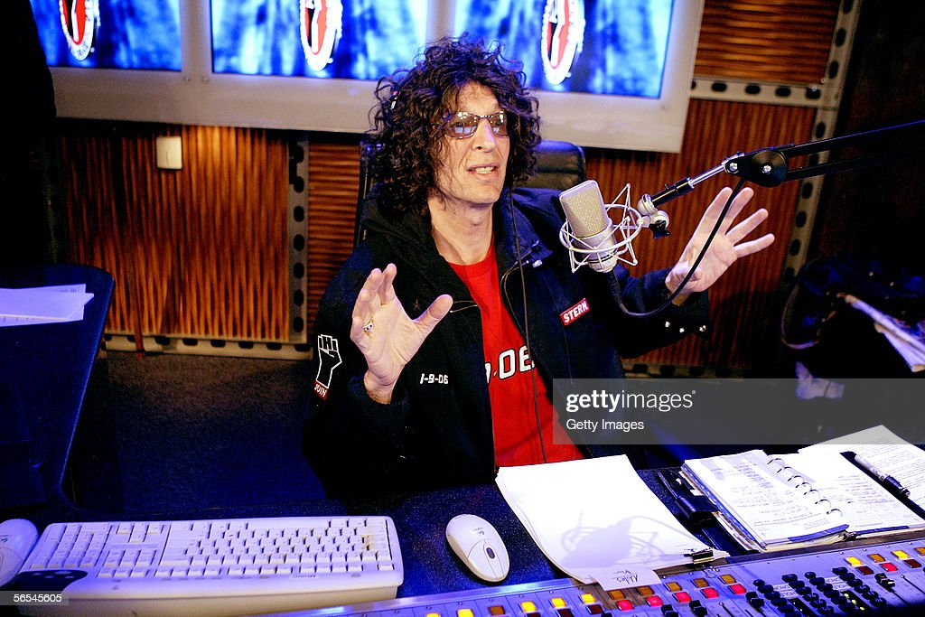 Stern Debuts On Sirius Radio : News Photo