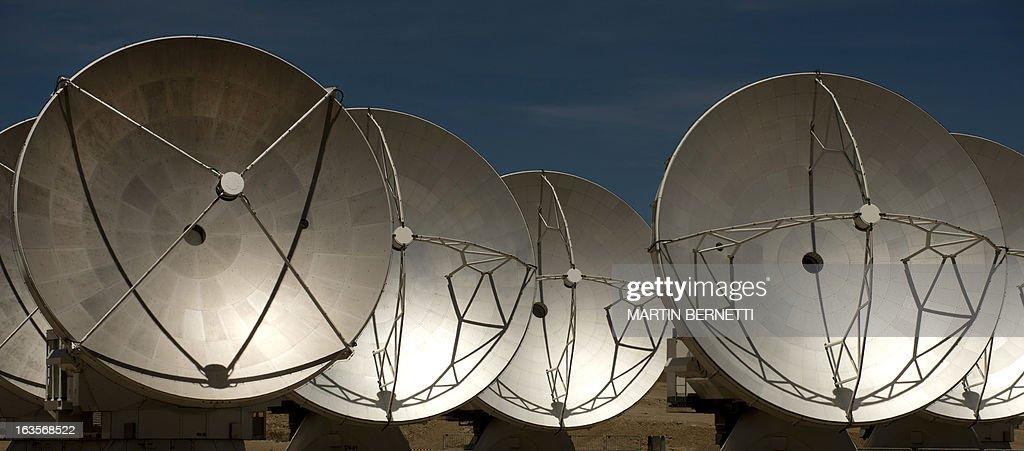 CHILE-ASTRONOMY-TELESCOPE-ALMA : News Photo