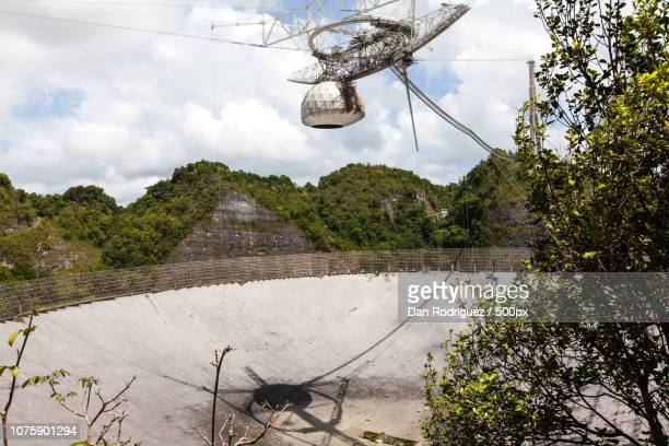 Radio Telescope at Arecibo Observatory