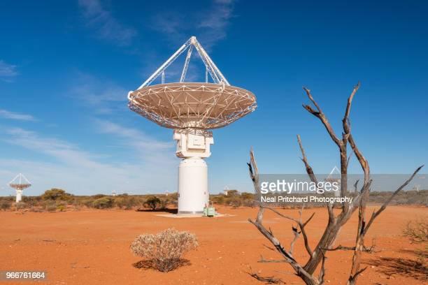 Radio Telescope Dishes