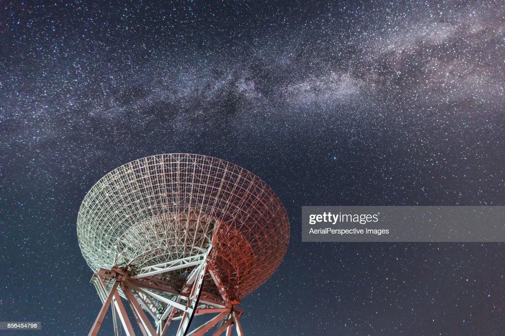 Radio Telescope : Stock Photo