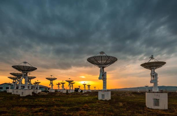 Radio Telescopes North China Dawn - Fine Art prints