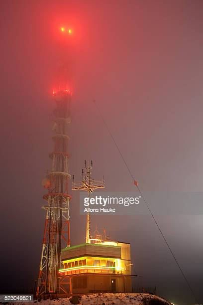 radio tower, helgoland, germany, europe - helgoland stock pictures, royalty-free photos & images
