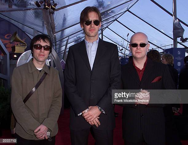 Radiohead arrives at The 43rd Annual Grammy Awards at The Staples Center Los Angeles CA Feb 21 2001