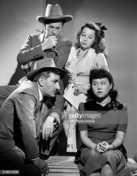 Radio's I Love A Mystery Clockwise from bottom left Michael Raffetto as Jack Packard of A1 Detective Agency Barbara Jean Wong Gloria Blondell and...