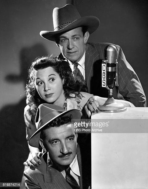 Radio's I Love A Mystery From top to bottom Barton Yarborough as Doc Long Gloria Blondell and Michael Raffetto as Jack Packard of A1 Detective Agency...