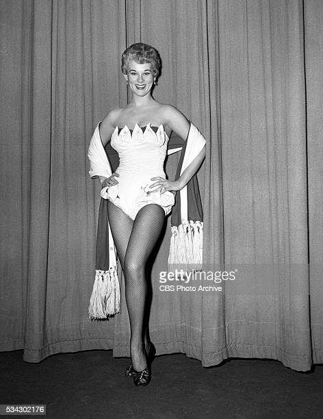 Radios The Edgar Bergen and Charlie McCarthy Show Pictured is singer/actress Grace Lee Whitney Miss Whitney sings commercial jingles Image dated...