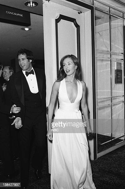 LIVE Radio/TV Correspondents' Dinner Pictured Chevy Chase wife Jacqueline Carlin Chase on March 25 1976
