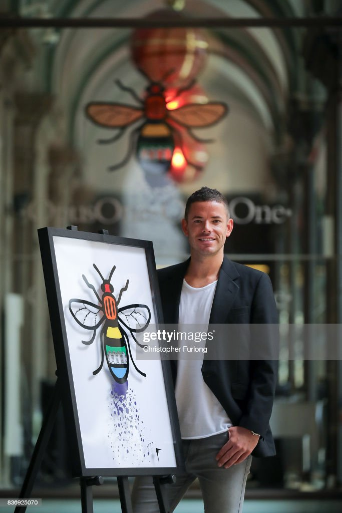 Radisson Blu Edwardian Manchester, Official Hotel Partner of Manchester Pride, unveils artwork created by Mancunian artist Christian Taylor (pictured) including the iconic Worker Bee in celebration of this year's #BeeProud campaign. The Radisson Blu Edwardian Manchester's is proud to be part of the 'buzzing' city and continued support of Pride on August 22, 2017 in Manchester, England.