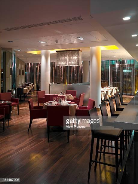 Radisson Sas, Stansted, United Kingdom, Architect Aukett Fitzroy Robinson, Radisson Sas General View Of New York Diner