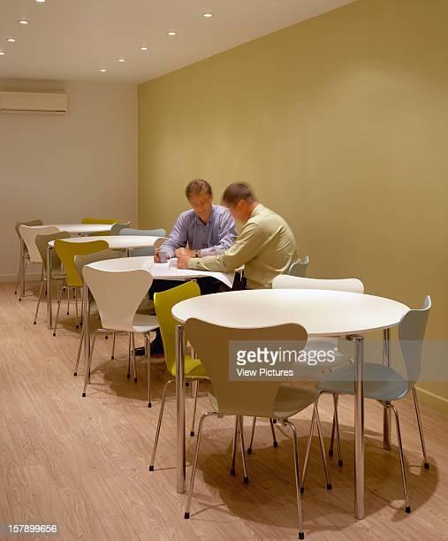 Radius Interiors Headquarters, Biggin Hill, United Kingdom, Architect Swanke Hayden Connell, Radius Interiors Headquarters Breakout Area.