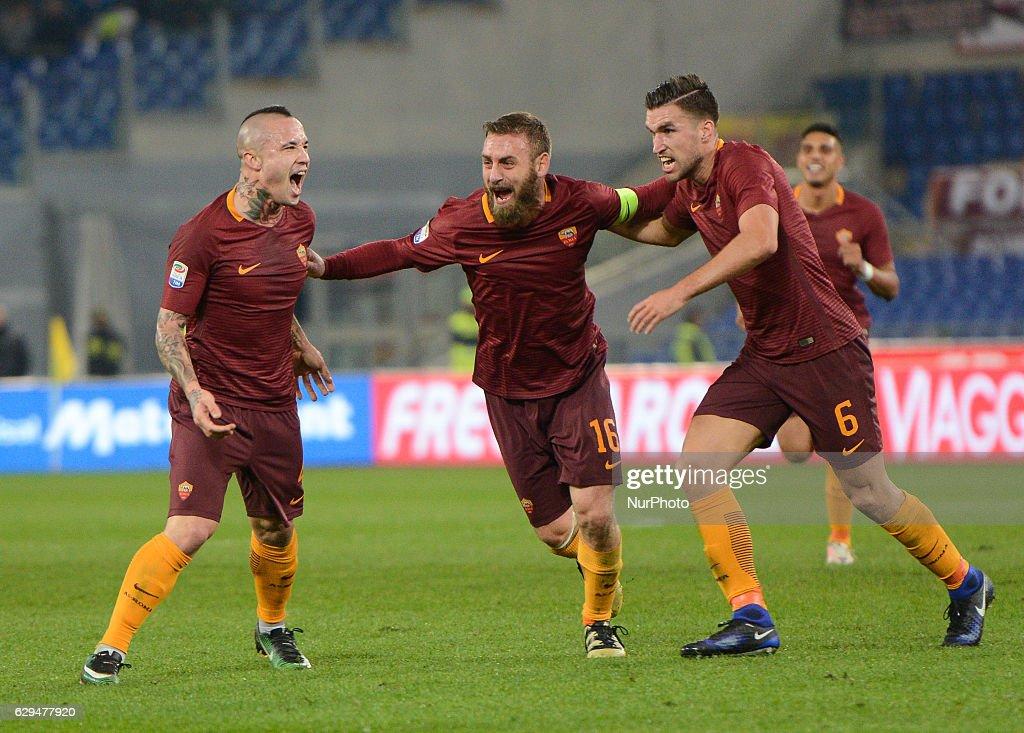 AS Roma v AC Milan - Serie A : Foto di attualità