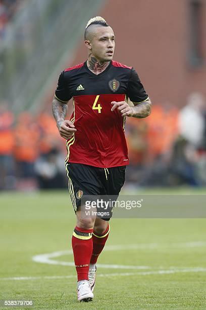 Radja Nainggolan of Belgium during the International friendly match between Belgium and Finland on June 5 2016 at the Koning Boudewijn stadium in...