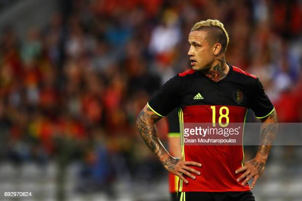Radja Nainggolan of Belgium looks on during the International Friendly match between Belgium and Czech Republic at Stade Roi Baudouis on June 5 2017...