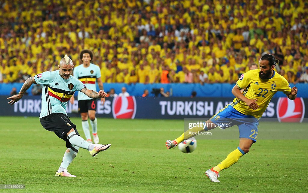 Sweden v Belgium - Group E: UEFA Euro 2016 : News Photo