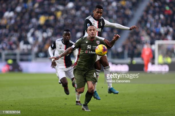Radja Nainggolan of Cagliari Calcio in action during the Serie A match between Juventus Fc and Cagliari Calcio. Juventus Fc wins 4-0 over Cagliari...