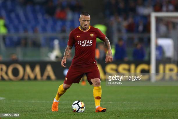 Radja Nainggolan of Roma at Olimpico Stadium in Rome Italy on May 13 2018 during Serie A match between AS Roma and Juventus