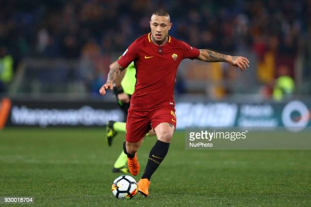 Radja Nainggolan of Roma during the Italian Serie A football match between AS Roma and FC Torino at the Olympic Stadium in Rome Italy on March 9 2018