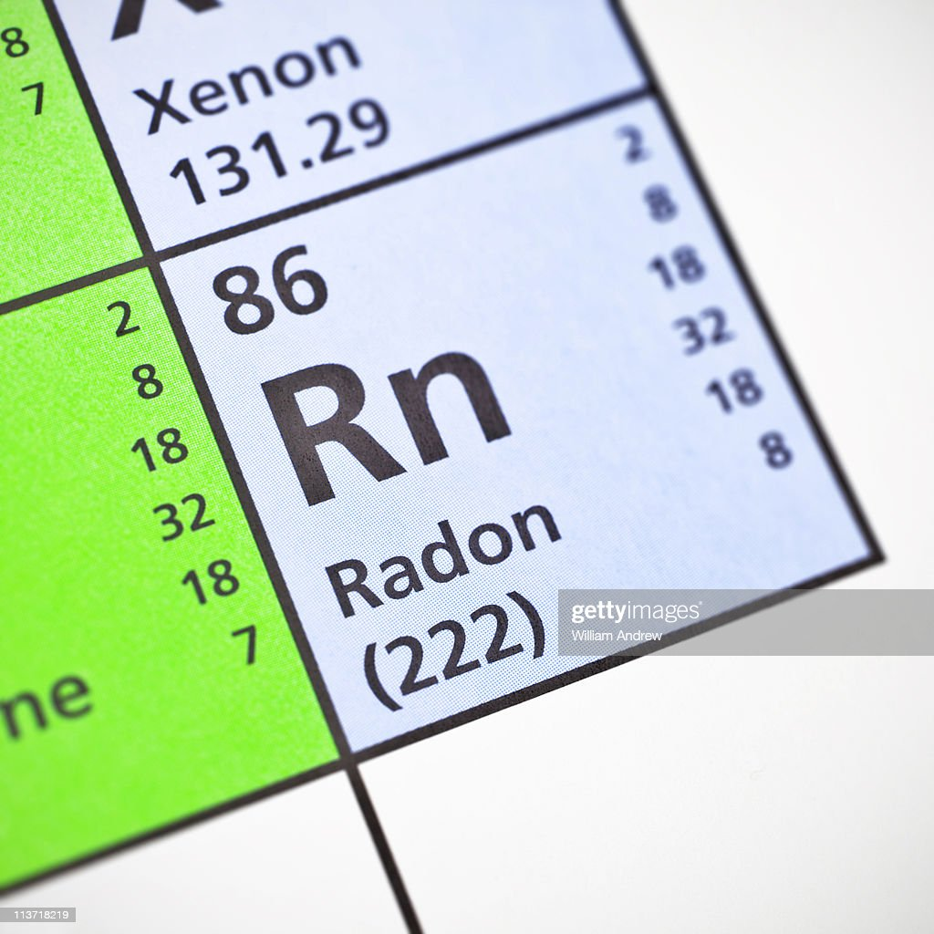 Radon on periodic table choice image periodic table images radon on periodic table stock photo getty images radon on periodic table stock photo gamestrikefo choice gamestrikefo Images