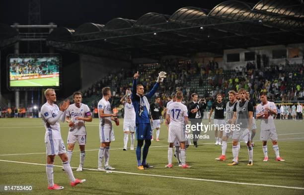 Radosc during the UEFA European Champions League Second qualifying round, Match 1 match between MSK Zilina - FC Copenhagen at Stadion pod Dubnom, on...
