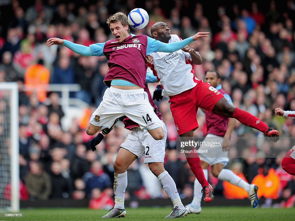 West Ham United v Nottingham Forest - FA Cup 4th Round