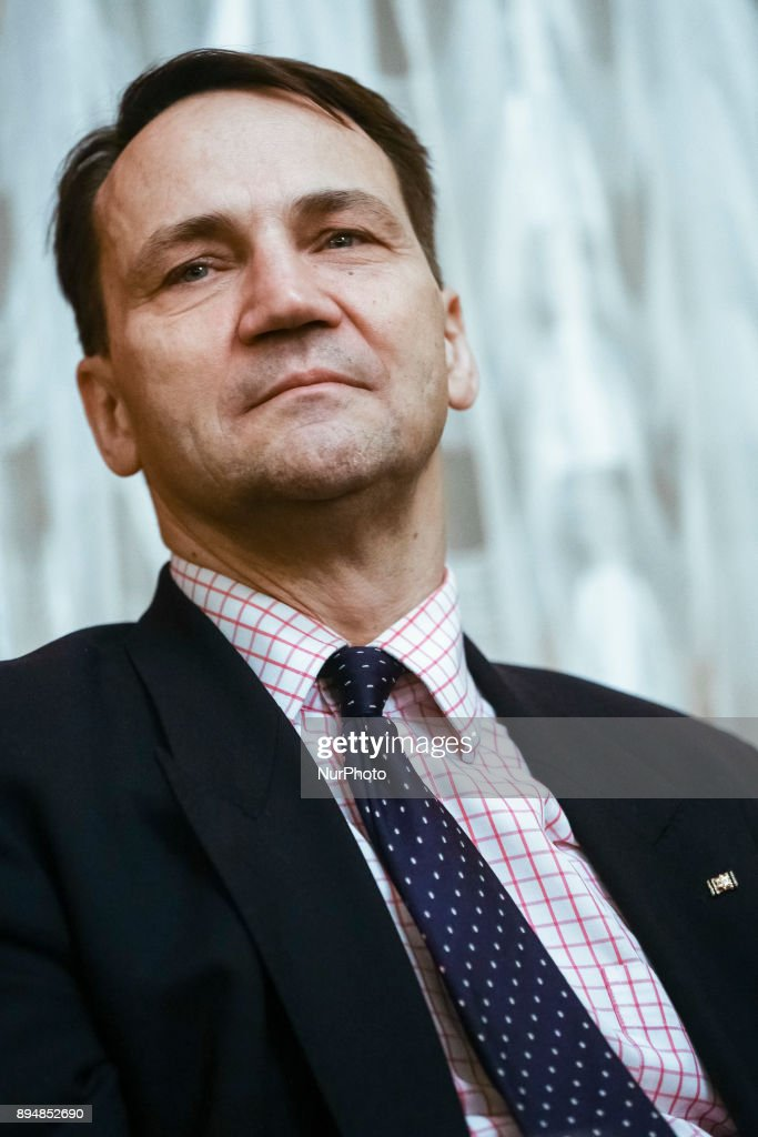 Radoslaw Sikorski at Citizens Club Meeting in Krakow
