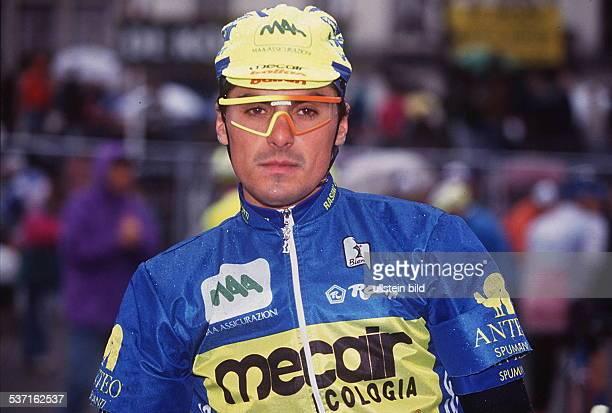 Radrennfahrer D im Renndress 1993