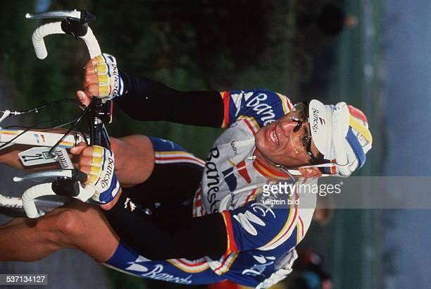 Radrennfahrer, E, in Aktion, - 1993