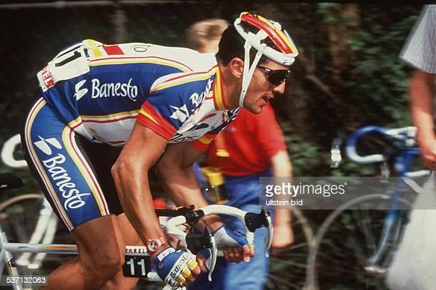 Radrennfahrer Spanien, Aktion, - 1993