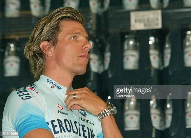 Radsport Praesentation Team Gerolsteiner 2004 Gerolstein Neuzugang Danilo HONDO 210104